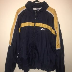 Reebok - Yellow/Black Vintage Windbreaker